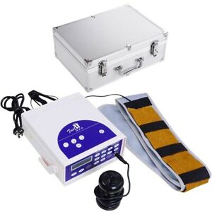 Foot Bath Spa Machine Ionic Detox Single User Cell Cleanse LCD with Belt Array