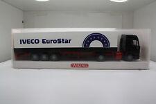 Iveco EuroStar Pritschen-Sattelzug von Iveco Eurostar i.OVP(Wiking//K 39,63,75