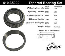 Centric Parts 410.35000E Front Inner Bearing Set