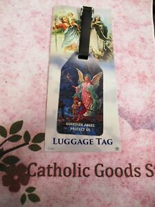 Guardian Angel, Protect Us - Luggage Tag