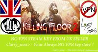Killing Floor 2  Steam key NO VPN Region Free UK Seller