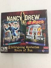 Nancy Drew ALIBI IN ASHES +  THE DEADLY DEVICE PC Game 2 PACK NEW -- S2G --