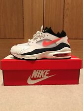 c8cfecf33998 BNWB Mens Nike Air Max 93 White Habanero Red UK Size 9