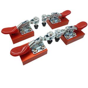 4pcs CNC Machine Fastening Platen Engraving Fixture Quick Clamp Fixture Tool Set