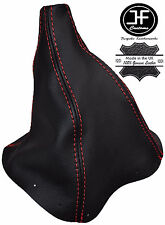 RED STITCH REAL LEATHER MNAUAL GEAR BOOT FITS FORD FALCON & FAIRMONT EA EB ED