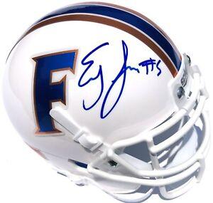 EMORY JONES #5 FLORIDA GATORS SIGNED MINI FOOTBALL HELMET PSA/DNA