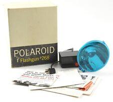 Polaroid 268 Flash gun for land bellows packfilm cameras,100 240 250 350  w/ BOX