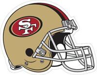 San Francisco 49ers Helmet Decal ~ Car / Truck Vinyl Sticker - Wall Graphics