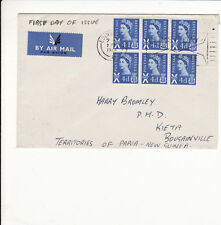 SCOTLAND : FIRST DAY COVER ADDRESS TO PAPUA NEW GUINEA 1966     G