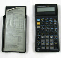 TI-68 Calculator Texas Instruments Advanced Scientific with Case and Insert