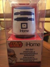 STAR WARS iHome R2-D2 PORTABLE RECHARGEABLE SPEAKER