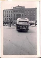 Schenectidy Rt 5 Bus Canada's Largest Selling O'Keefes Beer Sign Vtg 1950s Photo
