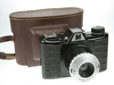 Pouva P56 Bakelit schwarz 6x6 Rollfilmkamera