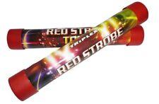 Pack de 4 Torches Stroboscopiques rouge