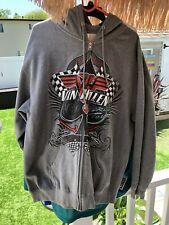 Van Halen Hoodie Xl 2012 Concert Tour Exclusive Full Zip up New!