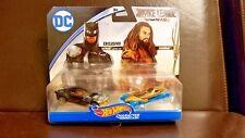 Justice League DC Comics Hot Wheels Character Cars Batman and Aquaman