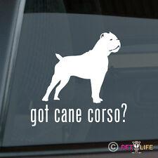 Got Cane Corso Sticker Die Cut Vinyl