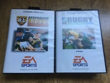 Rugby Megadrive Double Bunfle! Both Complete! Look In The Shop!