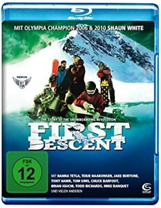 First Descent - The story of the snowboarding revolution [Blu-ray] NEU
