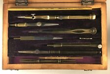Antique Boxed Technical Drawing set
