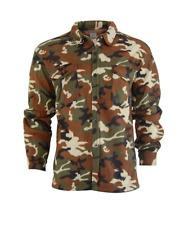Men's Camo Fleece Shirt Button Up M ~ New
