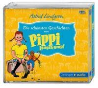 ASTRID LINDGREN - DIE SCHÖNSTEN GESCHICHTEN VON PIPPI LANGSTRUMPF - 3 CD - NEU!