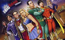 Poster A3 The Big Ban Theory Sheldon Leonard Howard Rajesh Penny Amy 03