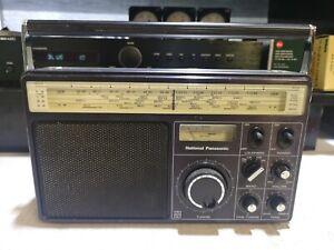 National Panasonic RF-1110 LBE 4 Band Transistor Radio Vintage #2427