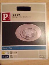 Paulmann Quality EBL Einbauleuchte Set schwenkbar LED Einbaulampe Leuchte Decke
