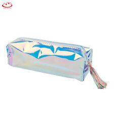 Student PU Pencil Case Pen Bag Purse Travel Cosmetic Makeup Organizer Pouch Bag