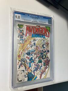 Avengers Annual 15 1986 Monica Rambeau CGC 9.8 TOP CENSUS GRADE ANYWHERE 1 of 15