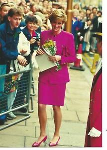 Princess DIana Colour Photograph (7 x 5)