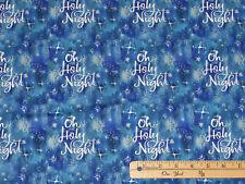 O Holy Night Christmas Peace Nativity Religious Fabric  17