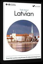 Eurotalk Talk Now Latvian pour débutants - Téléchargement option et CD ROM