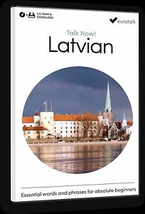 Eurotalk Talk Now Latvian for Beginners - Download option and CD ROM
