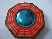 Vintage Bagua Bagwa Mirror Good Luck Blessing Home Hang Decor10cm Dia(BW022)