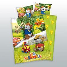 Herding Kinder Bettwäsche Leo Lausemaus 100x135 cm Kinderbettwäsche