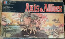 AXIS & ALLIES SPRING 1942 Gamemaster Series Board Game Milton Bradley 2ndED 100%