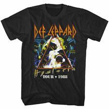 Def Leppard Hysteria Album Tour 1988 Men's T Shirt Love Bites Rock Band Concert