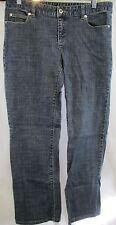 MICHAEL KORS Women's Size 8 32 x 29 Straight Leg Medium Wash Stretch Denim Jeans