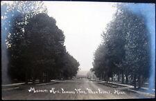 DEER LODGE Montana ~ 1915 UN-PAVED MISSOURI AVENUE ~ Heading Downtown ~ RPPC