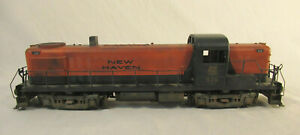 O Scale Weaver RS-3 Diesel Engine - New Haven 526 - Weathered