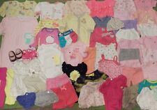 Huge Baby Girl clothing lot Newborn & 0-3 month EUC 50+ pieces Children's place