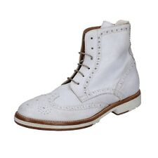 women's shoes MOMA 7 (EU 37) ankle boots white leather BR936