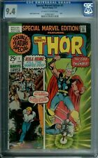 SPECIAL MARVEL EDITION #1 CGC 9.4 RARE SQBD GRADE THOR JOURNEY INTO MYSTERY 1971