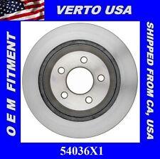Disc Brake Rotor- Rear fits 94-01 Ford Mustang COBRA, Verto USA 54036X1