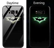 Avengers Marvel Batman Luminous Glass Case for Samsung Galaxy s9 Plus