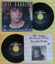 LP 45 7'' LEIF GARRETT I was looking for someone to love Same goes no cd mc dvd*