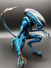 "7"" NECA Toy Aliens blue alien Xenomorph figma Predators PVC action figure"