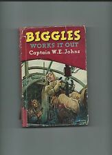 Biggles Works It Out by Capt. W.E. Johns 1952. 2nd Imp. Hardback